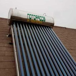 Calefactores solares